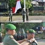 Kolonel Infantri Suwarno S. A. P Danrem 141 Toddopuli  Irup Upacara Minggu dan Kenaikan Pangkat