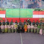 Danrem 141 Toddopuli Bone Kolonel Infantri  Suwarno S. A. P Beri Sambutan di Puncak  HUT Persit Kartika Chandra Kirana ke 73  Tahun