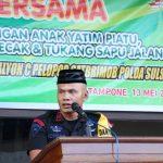 Buka Puasa Bersama, Batalyon C Pelopor Ajak Anak Yatim Piatu dan Tukang Becak