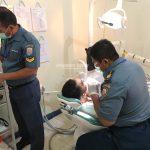 Humas Pemprov Kaltara, Sejumlah Petugas Dari TNI AL Melakukan Tes Kesehatan Bagi Capra IPDN 2019 di RSAL dr Ilyas, Selasa (16/7/19).
