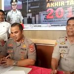 Press Release Akhir Tahun Polres Palopo