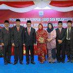 Gubernur Kaltara, Irianto Lambrie Melantik Beberapa Pejabat Dipemprov Kaltara