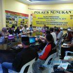 Kapolres Pimpin Rapat Pemantapan Kegiatan Tabligh dan Zdikir Yang Akan Digelar 29 Januari  2019