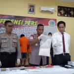 Ungkap 3 Kasus Narkoba, Polres Nunukan Sita 2,5 Kilogram Sabu