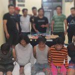Hanya Beberapa Jam, 5 Pelaku Pengedar Diamankan Polisi