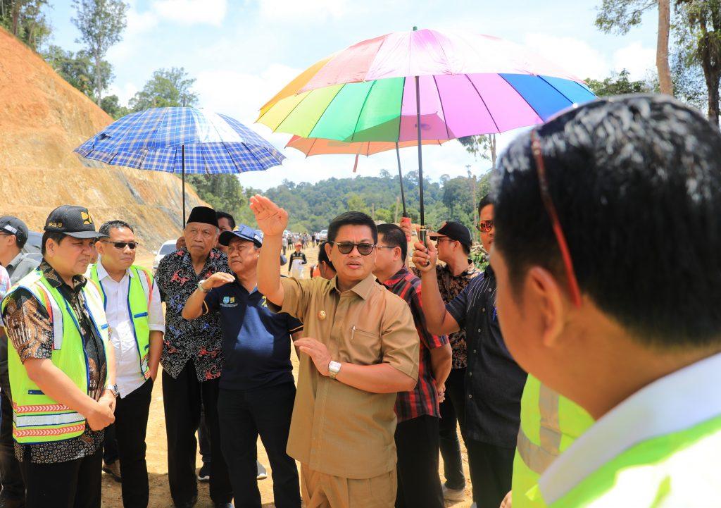 Pemprov Alokasikan Rp 6,4  Miliar untuk Jalan di Malinau dan KTT
