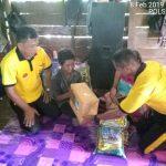Kapolres Nunukan Bersama Rombongan Sambangi Nenek Wati Yang Sedang Sakit Stroke
