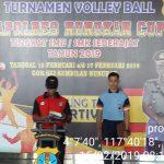 Kapolres Nunukan Resmikan Turnamen Volly Ball Kapolres Cup