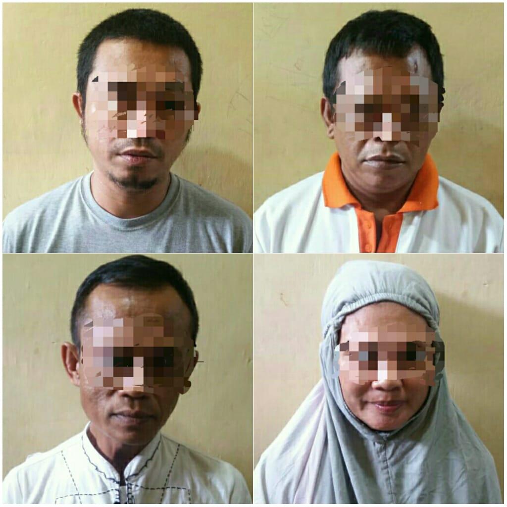 Sat Resnarkoba Polres Sinjai Kembali Mengamankan 4 Pelaku Penyalahgunaan Narkotika.