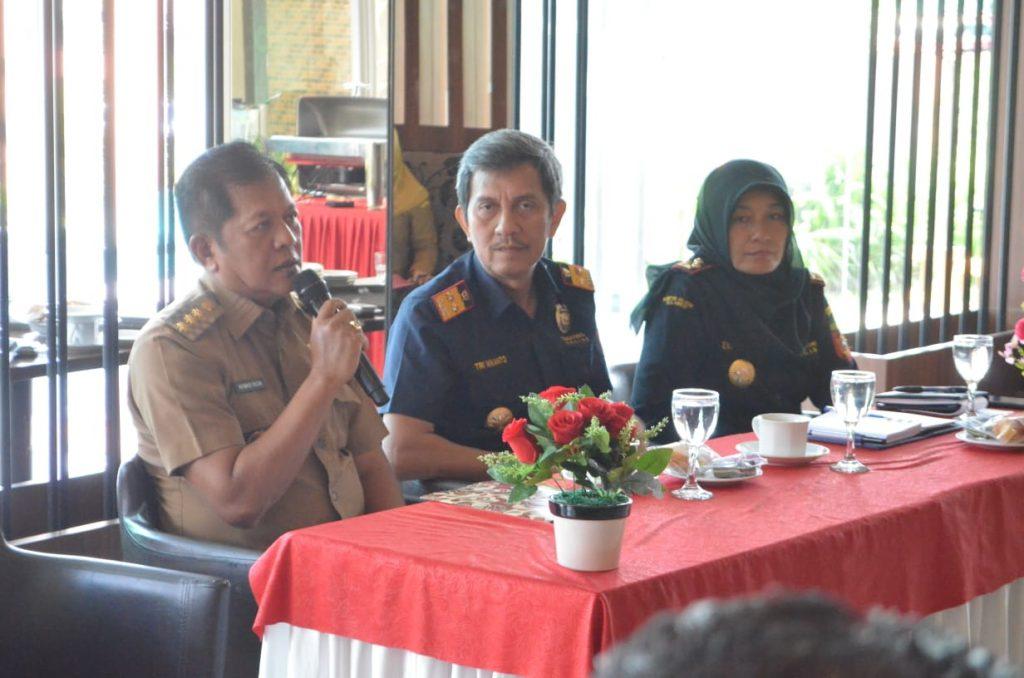 Bupati Soppeng terima kunjungan Kakanwil Direktorat Jenderal Bea dan Cukai Sulawesi Bagian Selatan