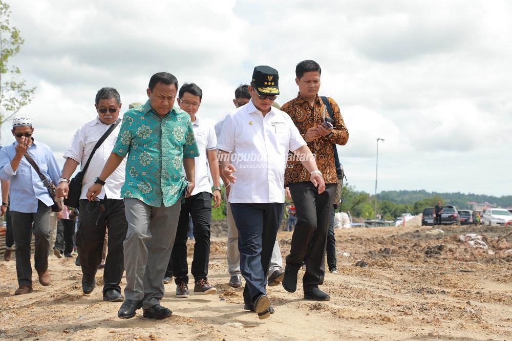 Kementerian PUPR Tinjau Pembangunan Kanal Antarmoda