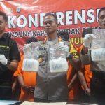 Ungkap 8 Kg Sabu, Satreskoba Polres Nunukan Berikan Timah Panas Sstu Pelaku