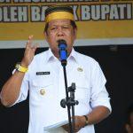 Bupati Soppeng hadiri Sosialisasi dan penyerahan Bansos PKH
