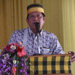 Camat Lilirilau Sosialisasikan PKH Sekaligus Penyerahan Bansos Kepada KPM
