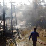 Sijago Merah Mengamuk, Satu Rumah Panggung Beserta Isinya Hangus Terbakar