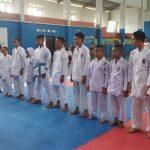 12 Atlet Yang Mengikuti O2SN Cabang Olahraga Karate Tingkat Kabupaten