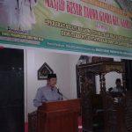 Bupati Soppeng Bersama Masyarakat Laksanakan Isra Miraj di Masjid Besar At Taqwa Ganra