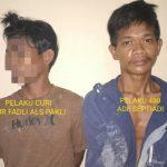 Polisi Bekuk Pencuri dan Penadah di Tempat Persembunyianya