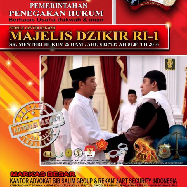 Satu Elemen Umat Islam Muncul Lagi Mendeklarasikan Dukungan Buat Kemenangan Jokowi -- Ma'ruf