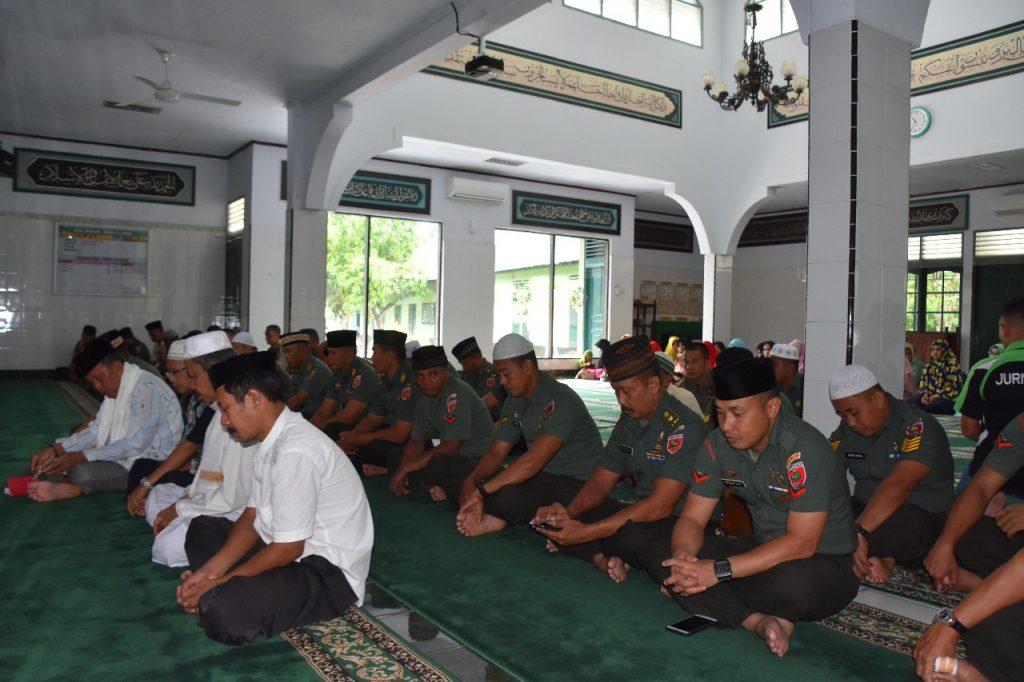 Korem 141 Toddopuli Bone Laksanakan Peringatan Isra'Mi'raj