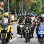 Danrem 141 Toddopuli Bersama Forkopimda Bone  Laksanakan Patroli Terpadu  di Wilayah Kota