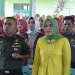 Puncak Peringatan HUT Persit KCK ke 73 di Makodim 1407/Bone, Dilaksanakan Syukuran