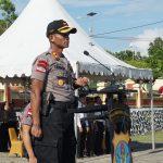 Polres Nunukan  Apel Gelar Pasukan Operasi Ketupat Kayan 2019