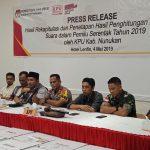KPU dan Bawaslu Apresiasi TNI Polri Dalam Mengamankan Pemilu 2019