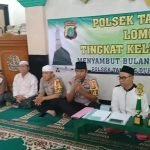 Polsek Tanjung Duren Gelar Lomba Adzan tingkat Kelurahan Tomang