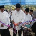 Bupati Wajo dan Wakilnya Resmikan Masjid Nur Firmah Sekaligus Mengikuti Pelantikan BKMT Nur Firmah Baru Tancung