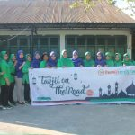 Ramadhan Kesepuluh, Persit KCK Cabang XXV Kodim 1407 Bone Bersama Bank Hasa Mitra Bone Bagi Takjil Gratis
