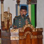 Dandim 1407/Bone Letkol Infantri Mustamin Kembali Dipercaya Memimpin Tim V Safari Ramadhan di Lappariaja