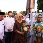 Safari Ramadhan Pangdam XIV Hasanuddin Mayjen TNI dan Ibu Ketua Persit Kartika Chandra Kirana PD XIV Hasanuddin Dikabupaten Bone