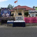 Bagi Takjil dan Buka Puasa Bersama Personil Polsek Tellu Siattinge Bersama Bhayangkari Ranting Tellu Siattinge