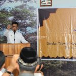Lepas Kafilah STQH, Gubernur Berpesan untuk Jaga Nama Baik