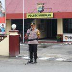 Polres Nunukan Gelar Apel Kesiapan Pengamanan Malam Takbiran