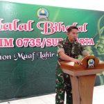 Lebaran Berakhir, Kodim 0735/Surakarta Gelar Halal-Bihalal