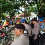 HUT Bhayangkara, Kapolres Sinjai  Secara Resmu Melepas Peserta Sepeda Cross Country  Jelajah Alam Bumi Panrita