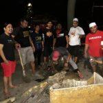 Hasil Jualan Kaos Branding, Poros Pemuda Bone Tambal  Beberapa Jalan Rusak