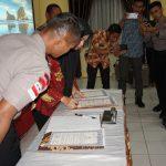Bupati Nunukan Sambut Gembira Deklarasi Pencanangan Zona Integritas Polres Nunukan