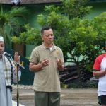 Danrem dan Staff Korem 141 /Toddopuli Senam Bersama dan Pengecekan Denyut Nadi
