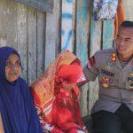 Patroli Peduli, Kapolres Tak Henti Bantu Warga Kurang Mampu di Nunukan