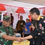 Panglima Kodam XIV/Hasanuddin Mayjen TNI Surawahadi S.IP.,M.SI Telah Tiba Di Lokasi TMMD 105 Kodim 1424 / Sinjai