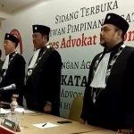 Pengukuhan 45 Advokat Oleh Konggres Advokat Indonesia (KAI)