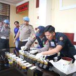 25 Personil Polres Nunukan Tes Urine Dadakan, Hasilnya Negatif