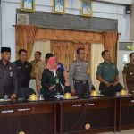 Rapat Parupurna Atas Penyelesaian  Pembahasan Ranperda Kabupaten Wajo Terkait 4 Rancangan Peraturan Daerah Kabupaten Wajo Tahun 2019 digelar