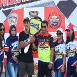 Rizky HK Crosser Jawa Tengah Juara Umum Bhayangkara Open Motorcross dan Grasstrack Polres Nunukan