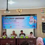 Fokus Group Discussion Evaluasi Kebijakan  dan Program lanjut usia di Kabupaten Kota, di gelar hari ini.
