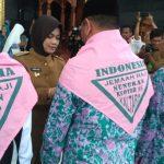 Bupati Laura Lepas Keberangkatan 321 Calon Jemaah Haji