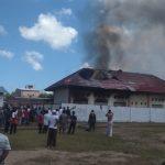 Asrama Santri Ponpes Tahfiz Wahdah Islamiyah Bulukumba Hangus Terbakar